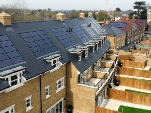 UK solar panel roofs