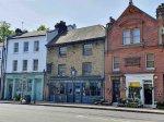 Row of shops in Highgate Village London N6